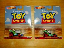 Lot 2 2019 Hot Wheels Disney Pixar Toy Story RC CAR Premium Retro Entertainment