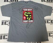 Matt Lindland Dan Henderson Chael Sonnen Signed Team Quest MMA Shirt PSA/DNA UFC