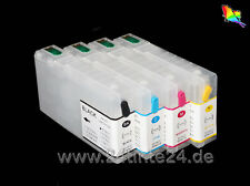 CISS rechargeables cartouches 4 compatibles à Epson workforce pro wp-4525 4540 x4