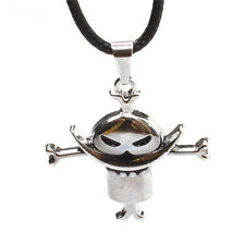 New Anime One Piece White Beard Edward Logo Metal Pendant Necklace Cosplay Gift