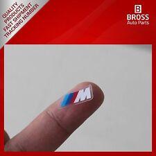 4X Fashion Stall Paste M logo Interior Stickers Gear Head for BMW 523 525 M1 M3