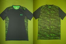 Shirt UNDER ARMOUR (S) HEATGEAR Fitted PERFECT !!! Base Layers RUNNING GREEN