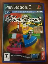 TRIVIAL PURSUIT UNLIMITED - PLAYSTATION 2 PS2 USATO