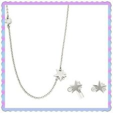 ◊ Gift Set ◊ New in Box ◊ Coach Shooting Stars Necklace and Earrings F90813
