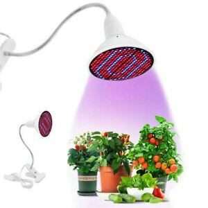 200 LED  Grow  Light  UV  IR  Growing Lamp  for Indoor Hydroponic  Plant w/Desk