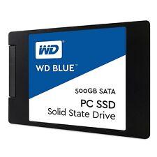 """WD Blue SSD 500GB 2.5"""" SATA III Internal Solid State Drive - WDS500G1B0A"""