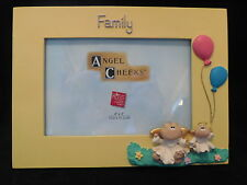 Angel Cheeks Picture Frame Family Theme Limited Collectible Russ Berrie New