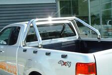 ROLL BAR + GRILLE DE PROTECTION INOX , NISSAN NAVARA 06-14 GARANTI 6ANS,  70MM