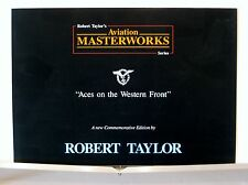 Aces on the Western Front, Robert.Taylor, Multi-Page Advertising Brochure
