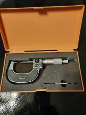 Mitutoyo Mechanical Point Micrometer 0 25mm Metric 30 Degree Nice