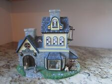 PartyLite Olde World Village #1 Candle Shoppe Tealight House-Decorative-Train