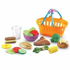Sprouts Dinner Basket Learning Resources Play Lunch Pretend Food Kids Toy New