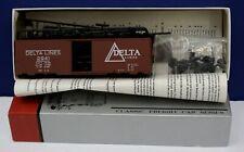 IMWX (Innovative) Heritage #3 HO 40' SD Boxcar Kit Delta Lines #2941 NIB