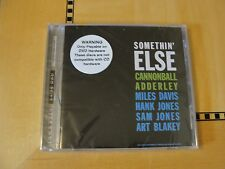 Cannonball Adderley - Somethin' Else - DVD Audio Classic Records 24/96 DAD