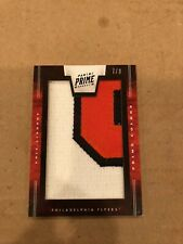 2011/12 PANINI PRIME ERIC LINDROS PRIME COLORS PATCH CARD VERY RARE #7/8
