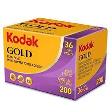 Uk - 3 Rolls Kodak Gold 200 35mm 36exp Color Print Film (Exp. 2018.11)
