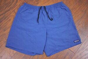 "Patagonia Baggies 7"" Shorts Glass Blue Men's Medium M"
