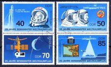DDR 3005-3008 SZd 314 + SZd 318 , gestempelt / o / Raumfahrt