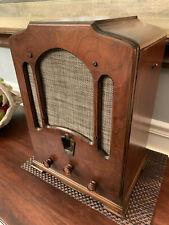 New Listing1932 Graybar Model 8 Working Tombstone Vacuum Tube Radio