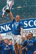 Ronald De BOER Signed 12x8 Photo AFTAL COA Autograph Glasgow Rangers Captain