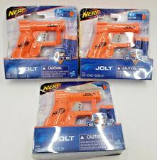 NERF N-STRIKE ELITE JOLT 3 BLASTERS + 6X ELITE DARTS HASBRO AGE 8+ FREE SHIP