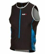 Louis Garneau Mens Pro Sl Semi-Relax Top Cycling Medium Black/Blue New