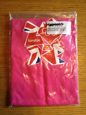 OFFICIAL LONDON 2012 Adidas PINK T-SHIRTS 7-8 YEARS 100% COTTON