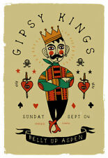 Gipsy Kings at The Belly Up Aspen Poster by Scrojo GipsyKings_1609