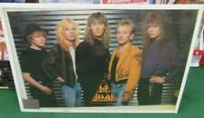 DEF LEPPARD POSTER NEW 1988 ORIGINAL RARE VINTAGE COLLECTIBLE OOP