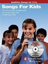 Songs for Kids - Audition Songs: Piano/Vocal/Guitar Arrangements with-ExLibrary