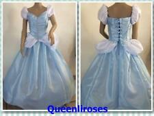"""Cinderella Ball Gown Dress Deluxe, Adult - Large/XL, 40 - 42"""" Bust, US Ship"""