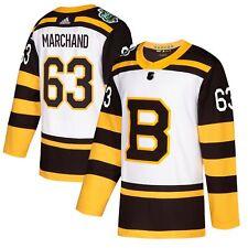 31a97ca6f26 Brad Marchand Boston Bruins 2019 Winter Classic Authentic Jersey Size 50  Medium