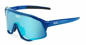 KOO Demos Cycling Sunglasses Blue / Turquoise Lenses