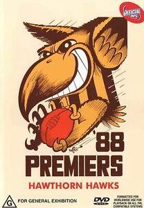 BRAND NEW AFL Premiers 1988 - Hawthorn Hawks DVD Grand Final VFL