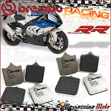 8 FRONT BRAKE PADS BREMBO RC CARBON CERAMIC RACING 07BB33RC BMW S1000RR 2010