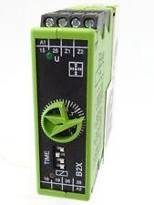 TELE HAASE B2X Zeitrelais Relais Time Relay Serie VOX  125ms...30h 2 Wechsler