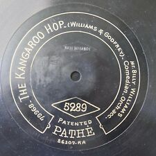 """12"""" 78rpm PATHE 5289 BILLY WILLIAMS kangaroo hop / its mine when you`ve done wit"""