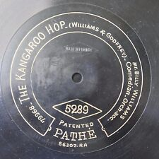 "12"" 78rpm PATHE 5289 BILLY WILLIAMS kangaroo hop / its mine when you`ve done wit"