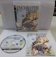 Console Gioco Game SONY Playstation 3 PS3 Play PAL - ENCHANTED ARMS - Ubisoft -
