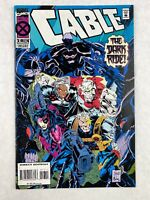 Cable The Dark Ride Vol 1 Issue 17 November 1994 Marvel Comics