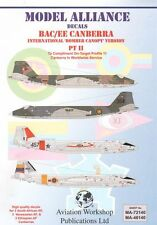 Model Alliance 1/72 BAC/EE Canberra Part II International Bomber Canopy Version