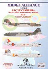 Alianza Modelo 1/72 BAC/EE Canberra parte II Versión Internacional Bomber dosel