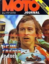 MOTO JOURNAL  116 LAVERDA 1000 PIAGGIO Vespa Bravo ; Grand Prix de France 1973