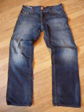 mens HUGO BOSS distressed jeans - size 38/34 great condition