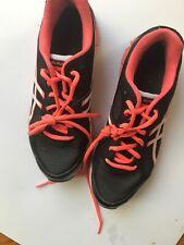 Asics Gel-Flash Mens Black  Orange Running Shoes Size 8