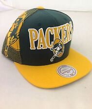 Green Bay Packers NFL snapback hat Mitchell & Ness new Pack NFC Football