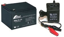 Giocattolo Batteria auto e caricabatterie COMBO 12v 12Ah Batteria & 12 VOLT CARICABATTERIE
