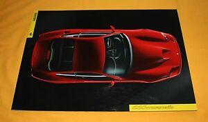 Ferrari 550 Maranello 1996 Prospekt Brochure Catalog Depliant Prospetto Prospect