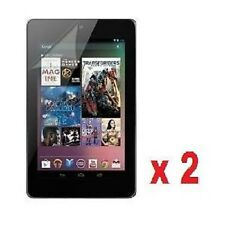 2 Packs of 2 Google Nexus 7 1st Gen Clear LCD Screen Protectors guard film cover