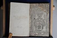 1550 - SPERONE SPERONI - CANACE - GIUDITIO SOPRA LA TRAGEDIA CANACE ET MACAREO